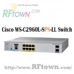 [Cisco] 시스코 WS-C2960L-8PS-LL  / 8 port GigE with PoE, 2 x 1G SFP, LAN Lite