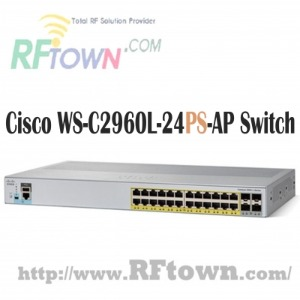 [Cisco] 시스코 WS-C2960L-24PS-AP / 24 port GigE With PoE, 4 x 1G SFP, LAN Lite