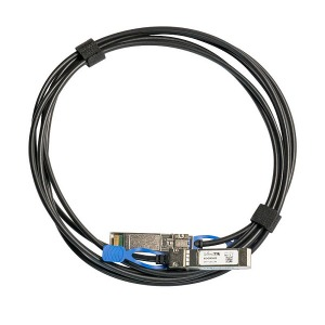 [MikroTik] 마이크로틱 XS+DA0003 1G/10G/25G SFP+ SFP28 Direct Attach Cable 3M